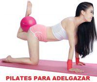 Los ejercicios de pilates más recomendados para adelgazar. Pierde peso rápidamente a través del Método Pilates.