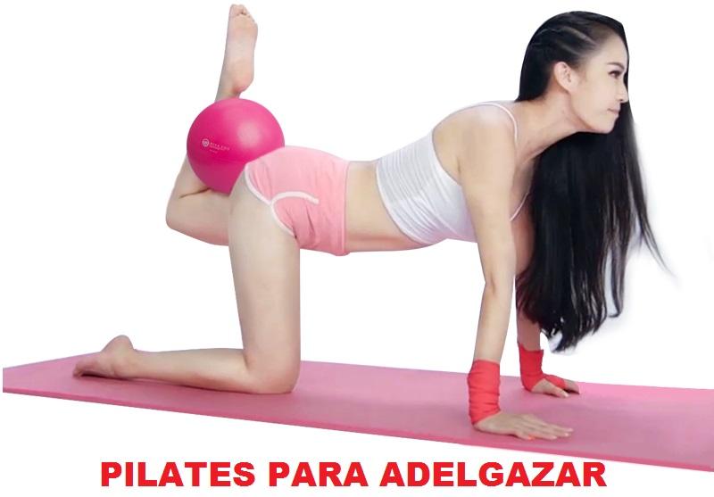 Ejercicios de pilates para adelgazar piernas